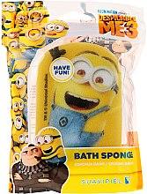 """Parfumuri și produse cosmetice Burete de baie pentru copii """"Minions"""", albastră, minion fericit - Suavipiel Minnioins Bath Sponge"""
