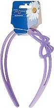 Parfumuri și produse cosmetice Cordeluță de păr, 27185, violet - Top Choice