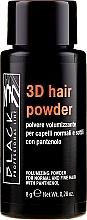 Parfumuri și produse cosmetice Pudră pentru volumul părului - Black Professional Line 3D Hair Powder