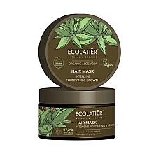 """Parfumuri și produse cosmetice Mască de păr """"Consolidare și creștere intensivă"""" - Ecolatier Organic Aloe Vera Hair Mask"""