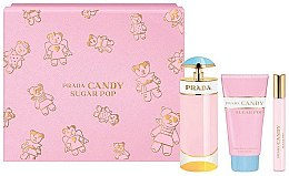 Parfumuri și produse cosmetice Prada Candy Sugar Pop - Set (edp 80 ml + edp 10 ml + b/lot 75 ml)