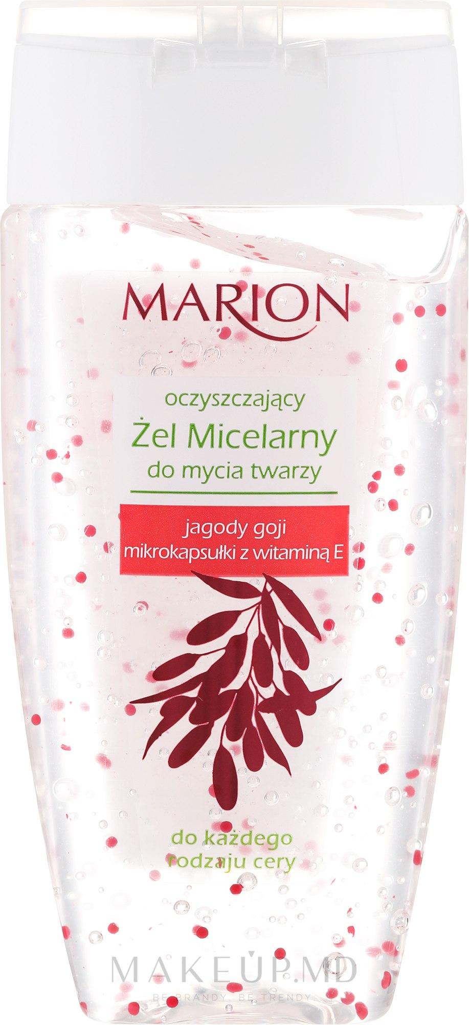 Gel micelar cu vitamina E pentru demachiere - Marion Micelar Gel — Imagine 150 ml