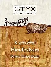 Parfumuri și produse cosmetice Balsam pentru mâini - Styx Potato Hand Balm (mostră)