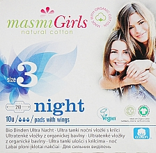 Parfumuri și produse cosmetice Absorbante ultra-subțiri pentru adolescente Girl, 10 bucăți - Masmi