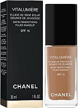 Fond de ten fluid - Chanel Vitalumiere Fluide De Teint Eclat — Imagine N2