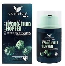 Parfumuri și produse cosmetice Fluid hidratant natural cu extract de hamei, pentru bărbați - Cosnature Men