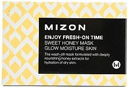 Parfumuri și produse cosmetice Mască hidratantă cu extract de miere - Mizon Enjoy Fresh On-Time Mask Honey Mask