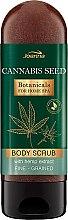 Scrub hidratant de corp - Joanna Botanicals For Home Spa Cannabis Seed Peeling — Imagine N1