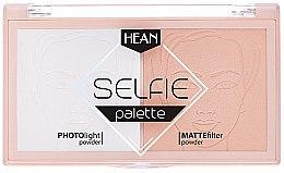 Parfumuri și produse cosmetice Pudră de față - Hean Selfie Palette