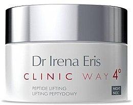 Parfumuri și produse cosmetice Cremă de noapte pentru față - Dr Irena Eris Clinic Way 4 Peptide Lifting