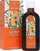 "Parfumuri și produse cosmetice Supliment dietetic ""Elixir de cătină"" - Weleda Bio Sanddorn Elixer/Buckthurn Elixir"