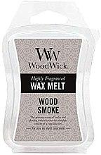 Parfumuri și produse cosmetice Ceară aromată - WoodWick Wax Melt Wood Smoke