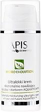 Parfumuri și produse cosmetice Cremă delicată puternic hidratantă cu pere și rubarbă - APIS Professional Hydro Evolution Extremely Moisturizing Ultra-Light Cream