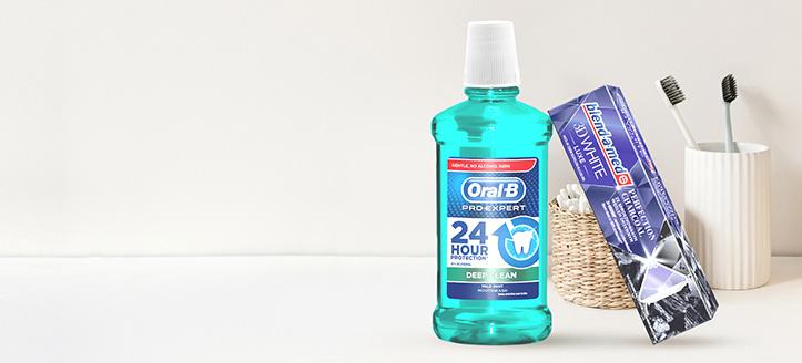 La achiziționarea produselor Blend-a-med, Blend-A-Dent și Oral-B începând cu suma de 125 MDL, primești cadou o pastă de dinți