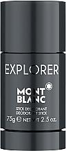 Parfumuri și produse cosmetice Montblanc Explorer - Deodorant-stick