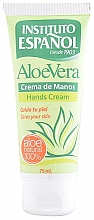 Parfumuri și produse cosmetice Cremă de mâini - Instituto Espanol Aloe Vera Hand Cream