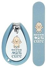 Parfumuri și produse cosmetice Set manichiură - Beter Baby Minicure Duo Kit Blue