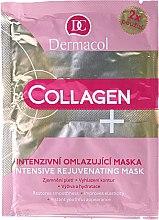 Parfumuri și produse cosmetice Mască intensă cu efect anti-îmbătrânire - Dermacol Collagen+ Intensive Rejuvenating Mask
