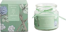 """Parfumuri și produse cosmetice Lumânare parfumată """"Sare de mare și mușchi de stejar"""" - Avon"""