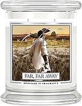 Parfumuri și produse cosmetice Lumânare aromată (borcan) - Kringle Candle Far Far Away