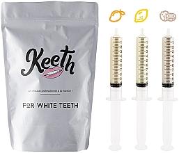 Parfumuri și produse cosmetice Set cartuș de înlocuire pentru albirea dinților - Keeth Exotic Fruit Refill Pack