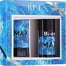 Bi-es Max Ice Freshness For Man - Set (h/shm/250ml + deo/150ml) — Imagine N1