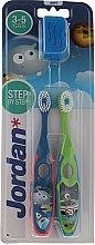 Parfumuri și produse cosmetice Periuță de dinți (3-5 ani) - Jordan Step By Step Soft Clean