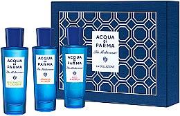 Parfumuri și produse cosmetice Acqua Di Parma Blu Mediterraneo Arancia Bergamotto Fico Collection Set - Set (edt/30mlx3)