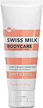 Parfumuri și produse cosmetice Крем для рук - Artemis Swiss Milk Hand Cream 3in1