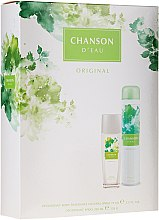Parfumuri și produse cosmetice Chanson D?eau Original - Set (deo/spray/75ml + deo/200ml)