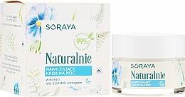 Parfumuri și produse cosmetice Cremă hidratantă de față - Soraya Naturalnie Night Cream