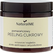 """Parfumuri și produse cosmetice Scrub de corp cu zahăr """"Orange"""" - NaturalME"""