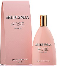 Parfumuri și produse cosmetice Instituto Español Aire de Sevilla Rose - Apă de toaletă