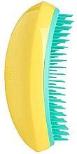 Parfumuri și produse cosmetice Perie de păr - Tangle Teezer Salon Elite Yellow&Green
