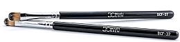 Parfumuri și produse cosmetice Pensulă pentru machiaj, BCF-37 - Beauty Crew