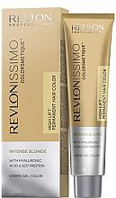 """Parfumuri și produse cosmetice Cremă-vopsea pentru păr """"Blond"""" - Revlon Revlonissimo Colorsmetique Intense Blonde"""