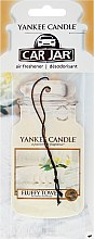 "Parfumuri și produse cosmetice Aromatizator ""Fluffy Towels"" - Yankee Candle Fluffy Towels Car Jar Ultimate"