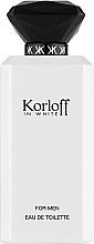 Parfumuri și produse cosmetice Korloff Paris Korloff In White - Apă de toaletă