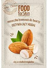Parfumuri și produse cosmetice Mască de față - Marion Food for Skin Cream Mask Nourishing Almond