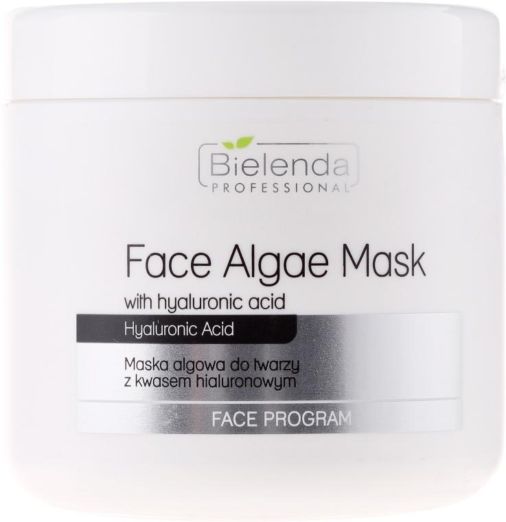 Mască de față alginat cu Acid hialuronic - Bielenda Professional Face Algae Mask with Hyaluronic Acid