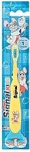 Parfumuri și produse cosmetice Periuță de dinți pentru copii, galbenă - Signal Kids
