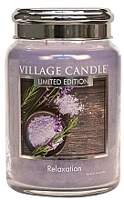 Parfumuri și produse cosmetice Ароматическая свеча в банке - Village Relaxation Limited Edition