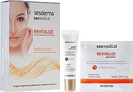 Parfumuri și produse cosmetice Peeling pentru iluminarea feței - Sesderma Sesmedical Revitalize Personal Peeling Program (cr/15ml + wipe/4x4ml)