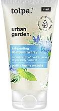 Parfumuri și produse cosmetice Peeling-gel de curățare pentru față - Tolpa Urban Garden Face Gel-Peeling Cleanser