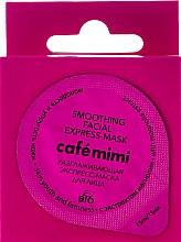 Parfumuri și produse cosmetice Mască de față cu extract de magnolie - Le Cafe de Beaute Cafe Mimi Smoothing Facial Express-Mask