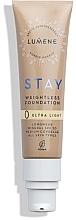 Parfumuri și produse cosmetice Fond de ten, rezistent - Lumene Stay Weightless Foundation Longwear Mineral SPF 30