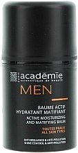 Parfumuri și produse cosmetice Active Balsam hidratant și matifiant - Academie Men Active Moist & Matifying Balm