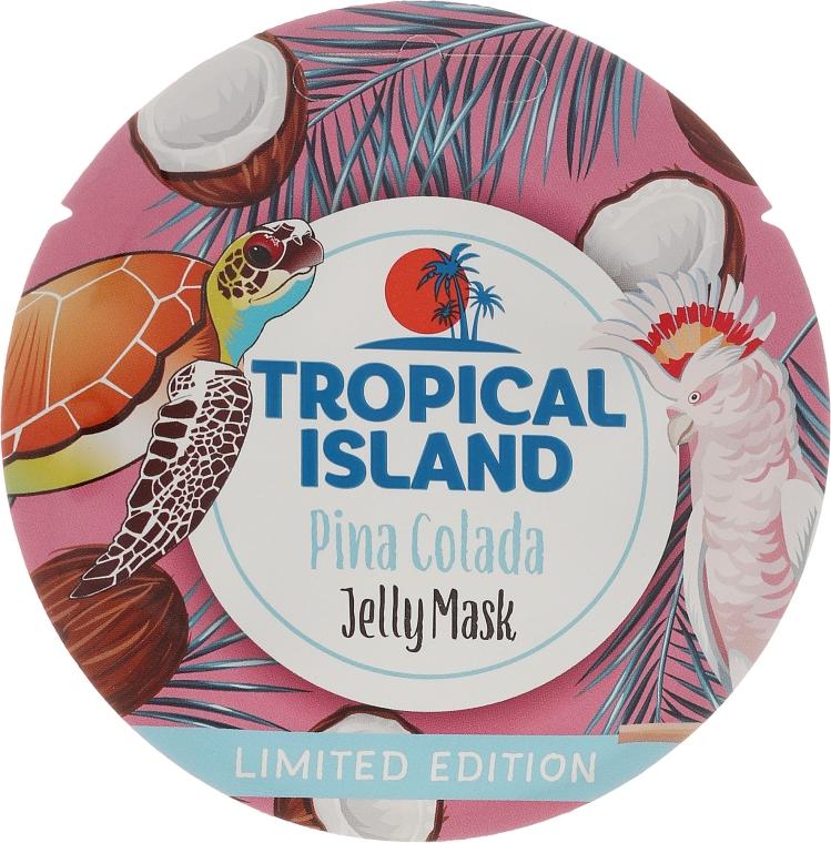 """Mască de față """"Pina Colada"""" - Marion Tropical Island Pina Colada Jelly Mask"""