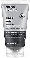 Духи, Парфюмерия, косметика Gel micelar cu extract de cărbune pentru curățarea feței - Tolpa Dermo Face Physio Carbo