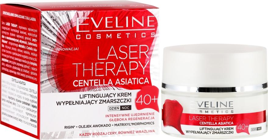 Crema de față 40+ - Eveline Cosmetics Laser Therapy Centella Asiatica 40+ — Imagine N1